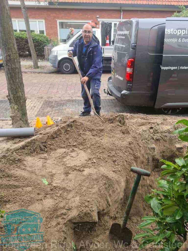 Riool ontstoppen Hoogeveen graven